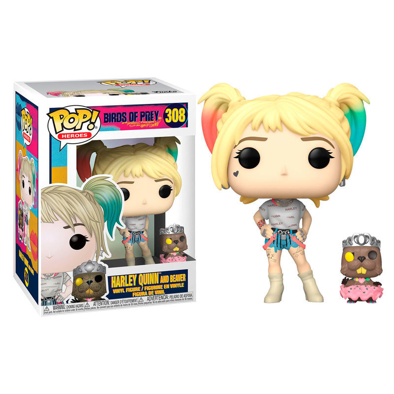 Harley Quinn with Beaver Funko POP Birds of Prey