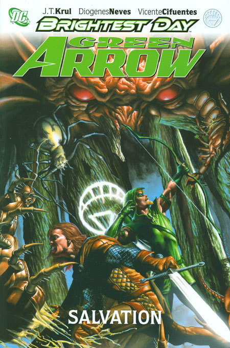 GREEN ARROW SALVATION HC