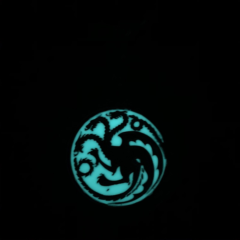 Game of Thrones- logo Targaryen fosfor