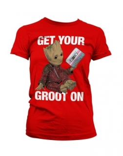 Strážcovia Galaxie- baby groot on
