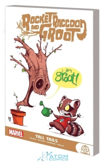 ROCKET RACCOON AND GROOT GN TP TALL TAILS