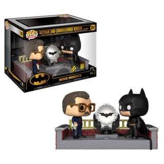 Batman a komisár Gordon Funko POP Batsignál