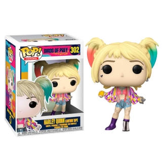 Harley Quinn Caution Tape Funko POP Birds of Prey