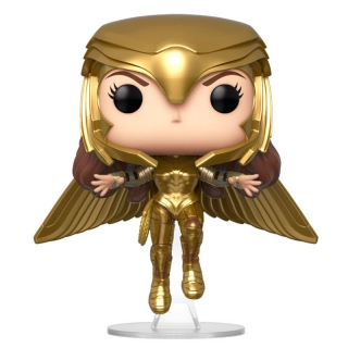 Wonder Woman Gold Flying Pose Funko POP 1984