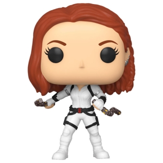 Black Widow White Suit Funko POP Black Widow