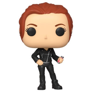 Black Widow Street Funko POP Black Widow