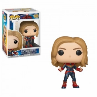 Captain Marvel Funko POP oblek
