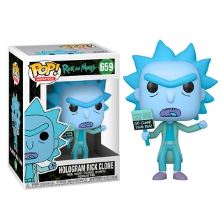 Hologram Rick Clone Funko POP Rick and Morty
