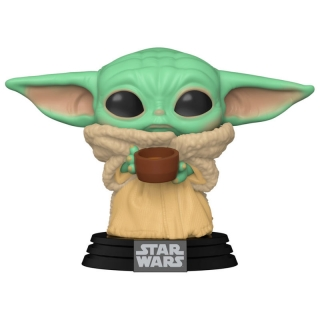 Baby Yoda with Cup Funko POP Mandalorian