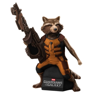 Rocket Raccoon Bust Bank figure