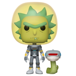 Space Suit Rick with Snake Funko POP