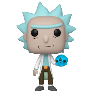 Rick with Crystal Skull Funko POP Rick and Morty