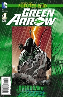 GREEN ARROW FUTURES END #1 STANDARD 2D COVER (N52)