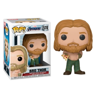 Thor Funko POP Avengers: Endgame with pizza
