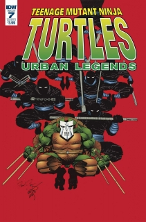 TMNT URBAN LEGENDS #7