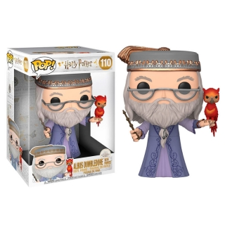 Dumbledore with Fawkes Funko POP Harry Potter 25cm