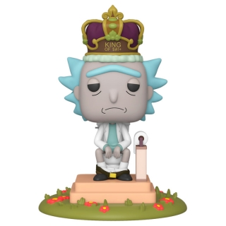 Rick Funko POP King with Sound