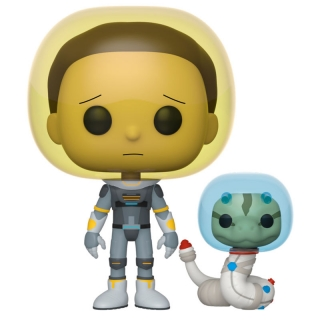 Space Suit Morty with Snake Funko POP