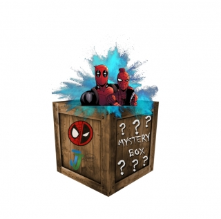 Spider-Man/Deadpool Mystery box
