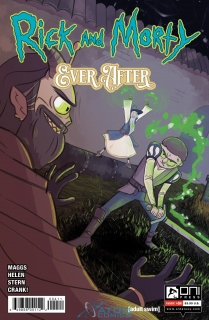 RICK & MORTY EVER AFTER #4 CVR A HELEN