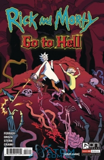 RICK AND MORTY GO TO HELL #3 CVR A OROZA