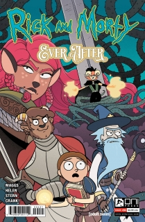 RICK & MORTY EVER AFTER #4 CVR B