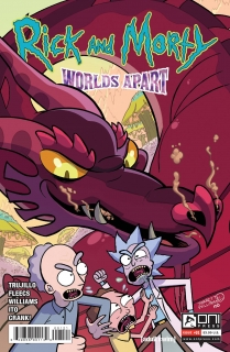 RICK AND MORTY WORLDS APART #1 CVR B WILLIAMS