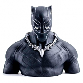 Black Panther Bust Bank figure