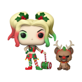 Harley Quinn Funko POP DC Holiday