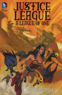 JUSTICE LEAGE A LEAGUE OF ONE TP